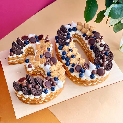 Торт цифры (2 шт)