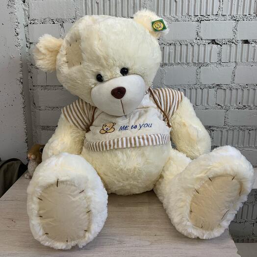 Большой белый Тедди
