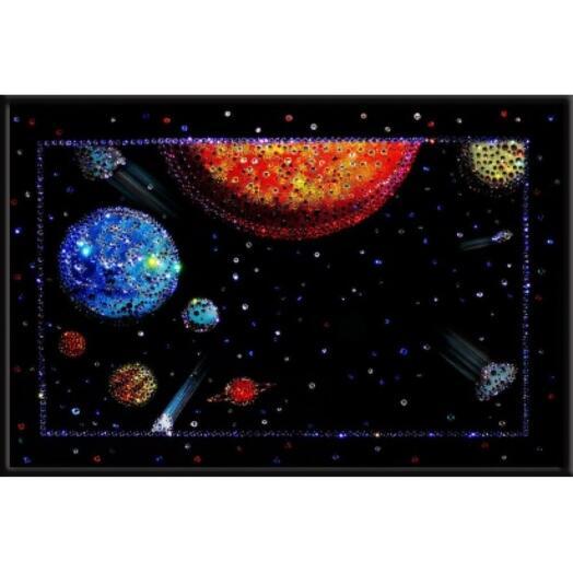"""Картина с кристаллами Swarovski """"Вселенная"""""""