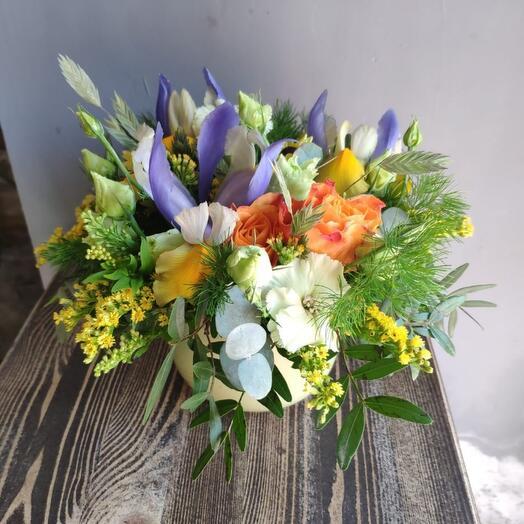 Кружка с цветами 2