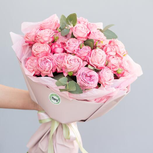 Монобукет пионовидных роз «Артезия М» 246