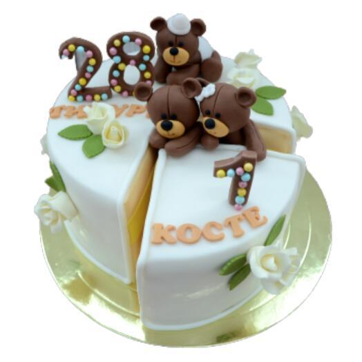 Торт с Мишками арт.A6690