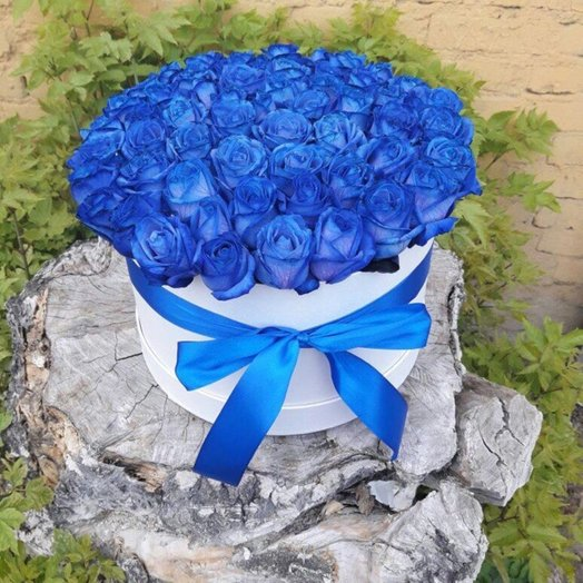 Облако в коробке: букеты цветов на заказ Flowwow