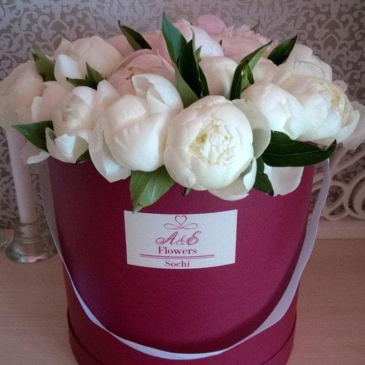 Композиция Роскошный пион: букеты цветов на заказ Flowwow
