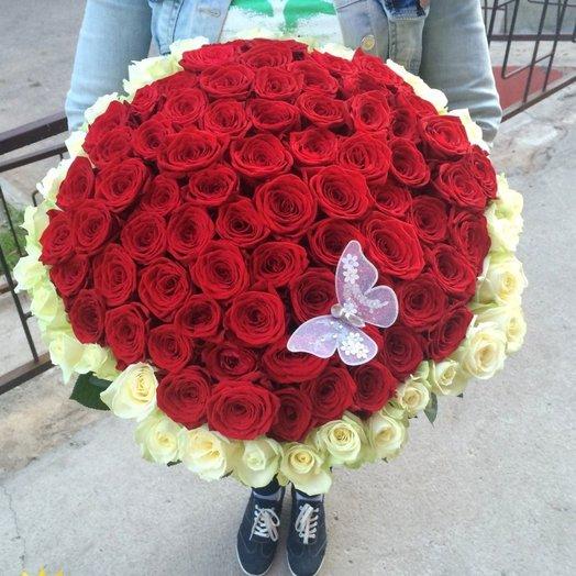 Red  White: букеты цветов на заказ Flowwow