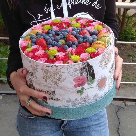 Ягодный XL: букеты цветов на заказ Flowwow