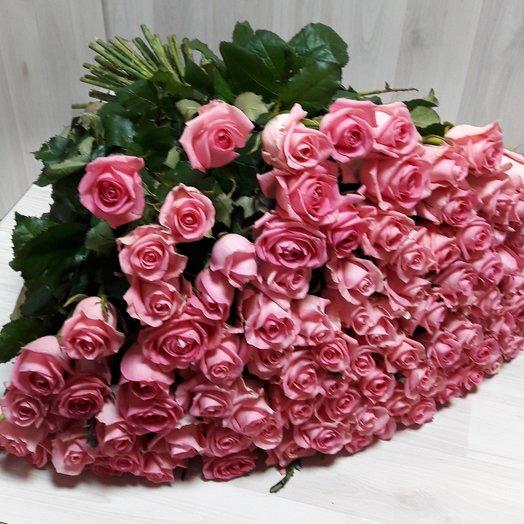 Скромная улыбка: букеты цветов на заказ Flowwow