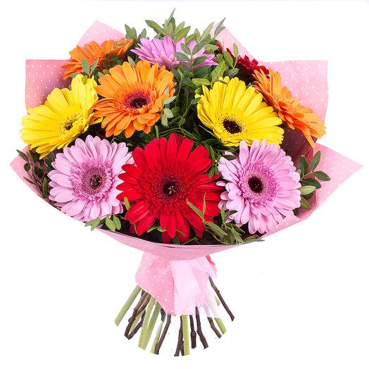 Герберы в фетре.: букеты цветов на заказ Flowwow