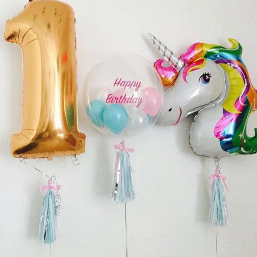 """Композиция """"Сказочный день рождения!"""": букеты цветов на заказ Flowwow"""