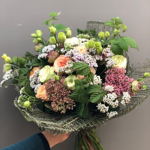 Малиновое настроение : букеты цветов на заказ Flowwow