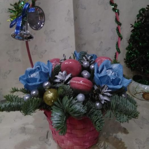 Зимняя сладость: букеты цветов на заказ Flowwow