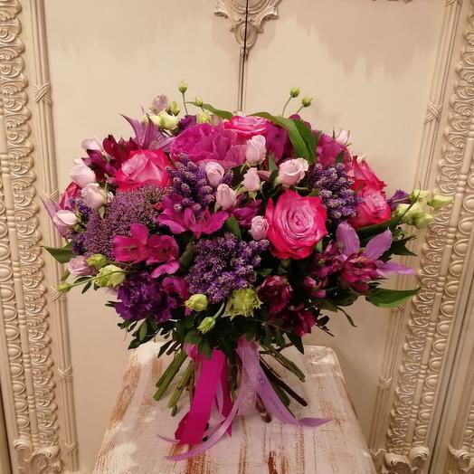 Яркие мотивы: букеты цветов на заказ Flowwow