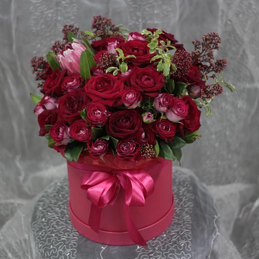 Алый карат: букеты цветов на заказ Flowwow