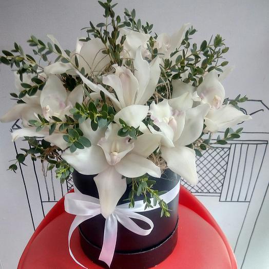 Букет с орхидеями: букеты цветов на заказ Flowwow