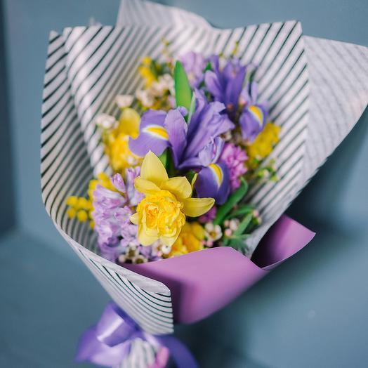 """Букет """"Скромная улыбка"""": букеты цветов на заказ Flowwow"""