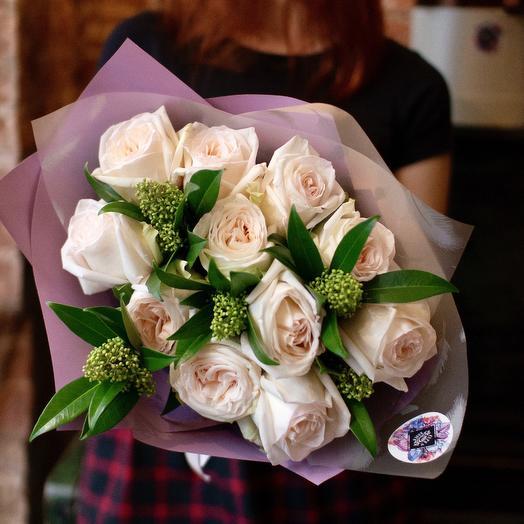 Букет Нежные чувства: букеты цветов на заказ Flowwow