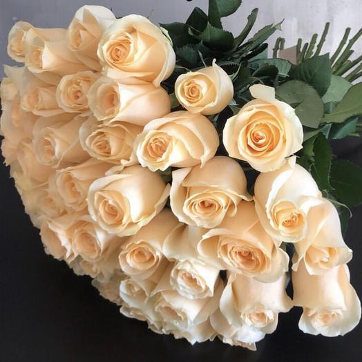 Кремовое наслаждение: букеты цветов на заказ Flowwow