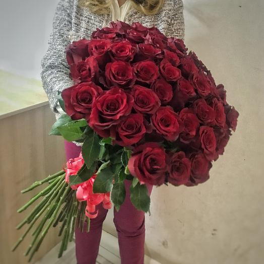 Роза Explorer  45: букеты цветов на заказ Flowwow