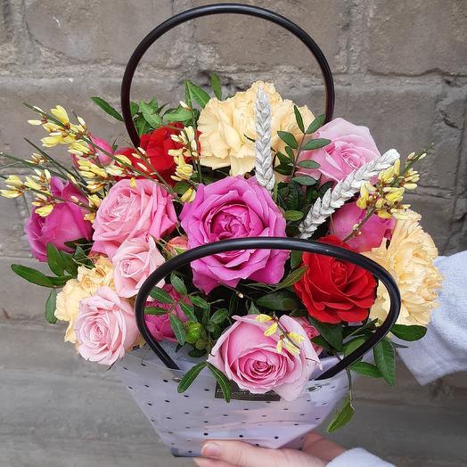 Сумочка цветов