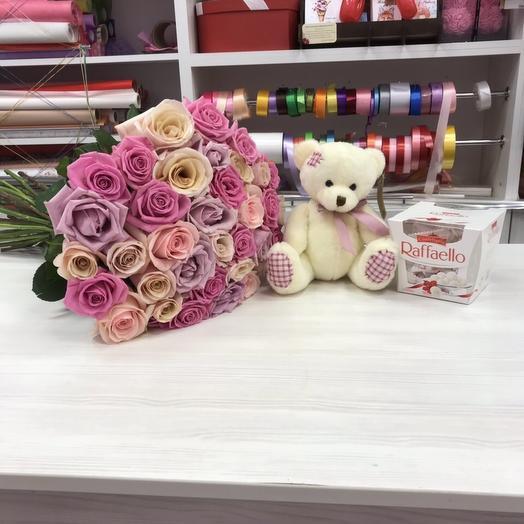 Комбо: букеты цветов на заказ Flowwow