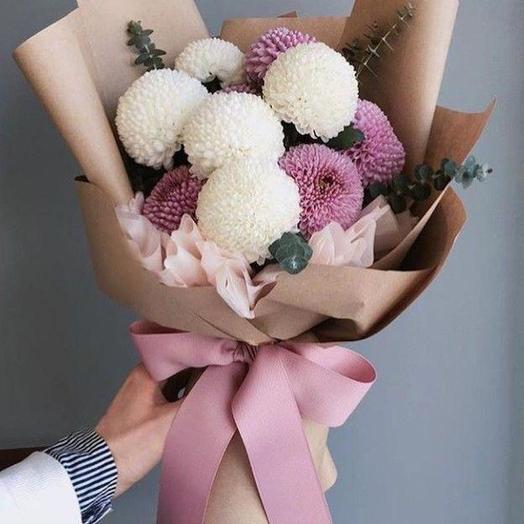 Круглое счастье: букеты цветов на заказ Flowwow