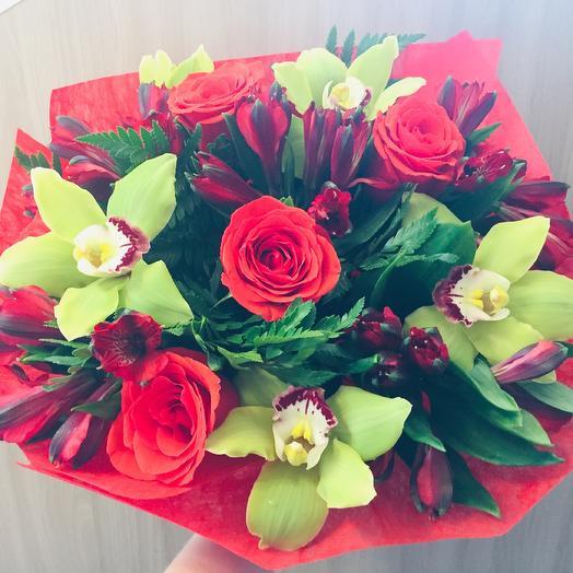 Огонь любви: букеты цветов на заказ Flowwow