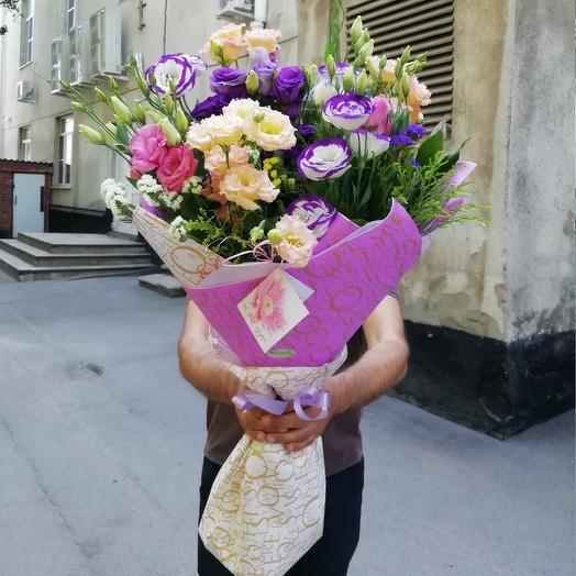 Букет из китайских роз