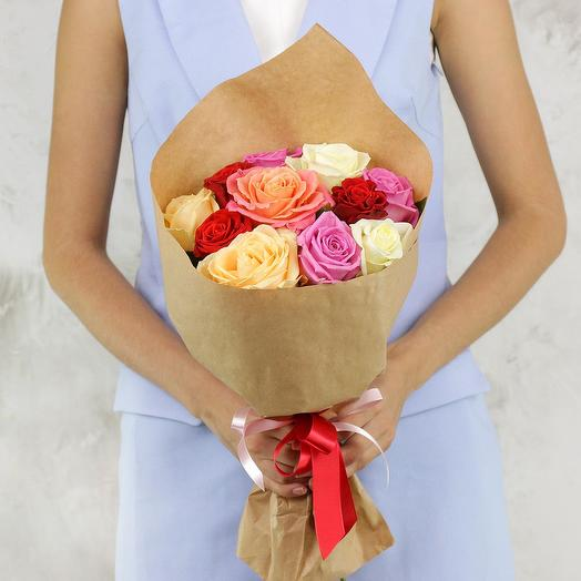 11 mix roses: flowers to order Flowwow