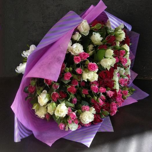 Букет премиум 7: букеты цветов на заказ Flowwow