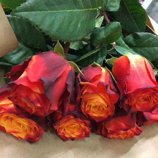 Великолепная семерка: букеты цветов на заказ Flowwow