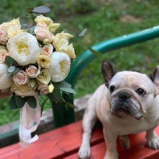 """Букет невесты """"История любви"""": букеты цветов на заказ Flowwow"""