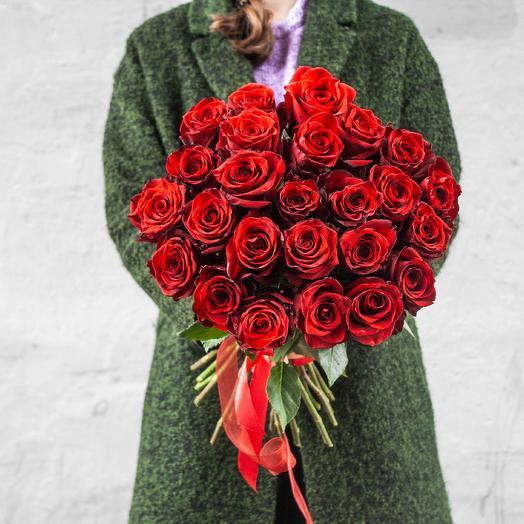 Букет из 25 роз Эквадор