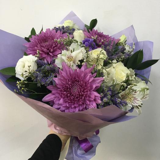 Букет «Сиреневый»: букеты цветов на заказ Flowwow