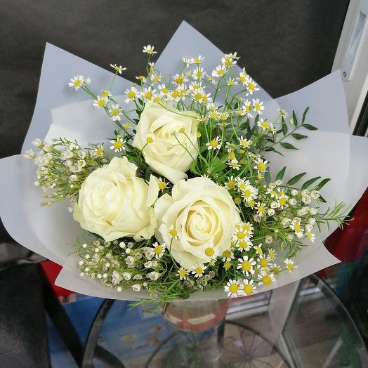 Белая призма: букеты цветов на заказ Flowwow