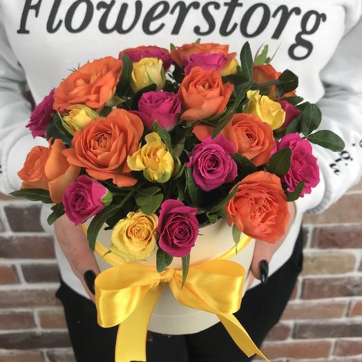 Яркий мини комплимент: букеты цветов на заказ Flowwow