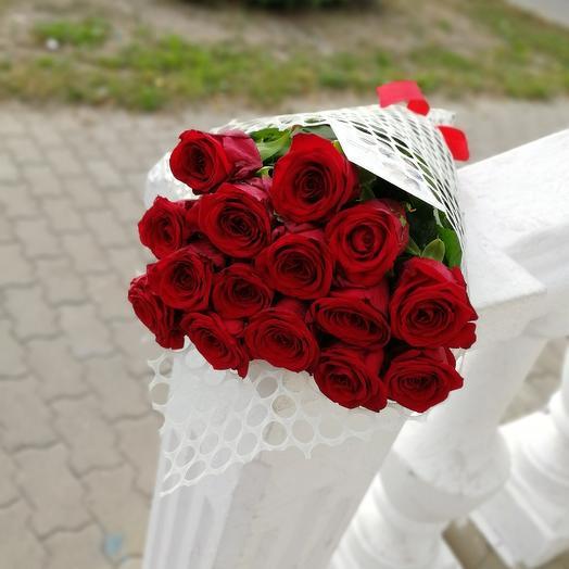 ✅ Букет красных роз 15