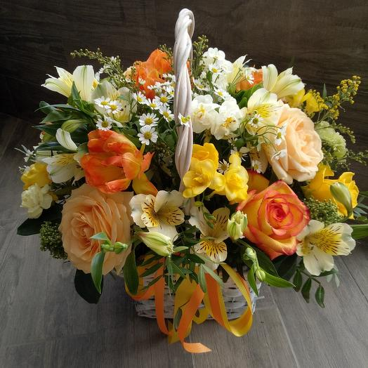 Сочный апельсин: букеты цветов на заказ Flowwow