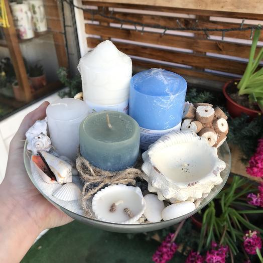 Набор свечей: букеты цветов на заказ Flowwow