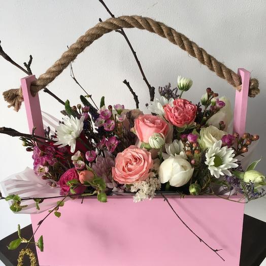 Весеннее Очарование: букеты цветов на заказ Flowwow