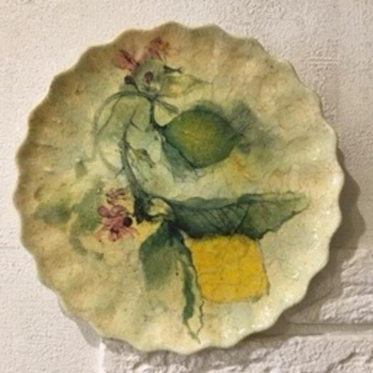 Тарелка с Лимонами: букеты цветов на заказ Flowwow