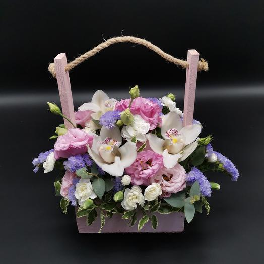 Розовый пунш: букеты цветов на заказ Flowwow