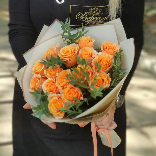 Букет из роз Карпе Дием