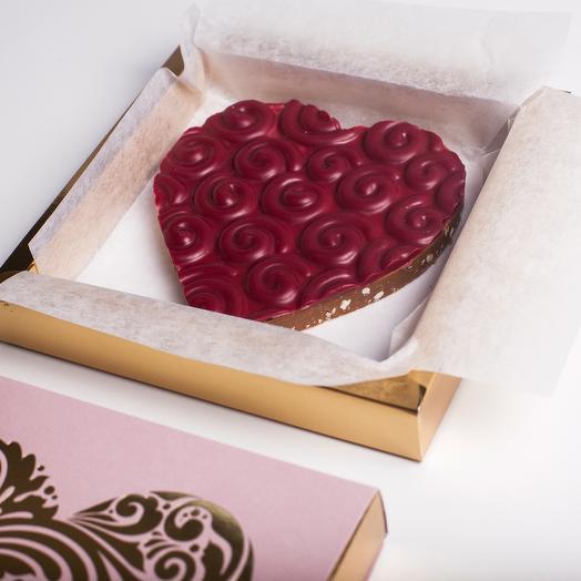 Cердце пролине с фруктовым шоколадом Inspiration Valrhona