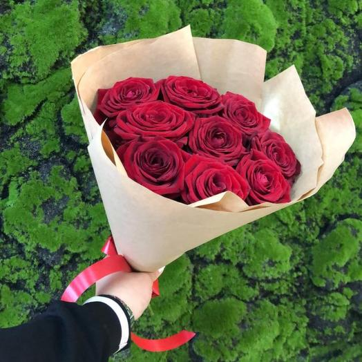 Букет роз « Наоми 9  Шт»