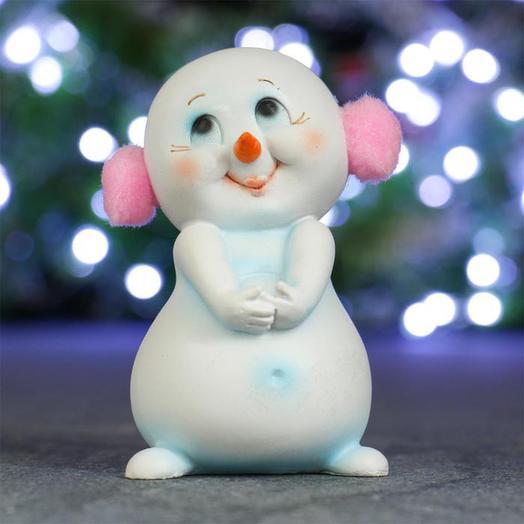 """Сувенир """"Влюблённый снеговичок"""""""