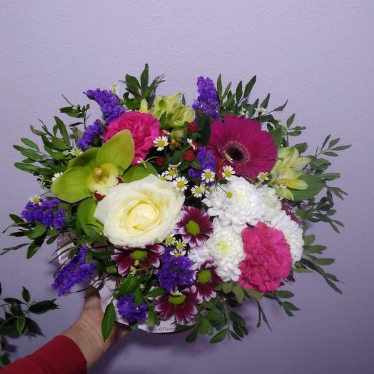 Коробочка цветов