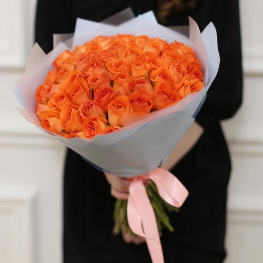 51 рыжая роза