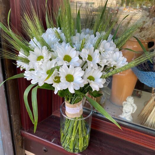 Букет цветов Ромашковый