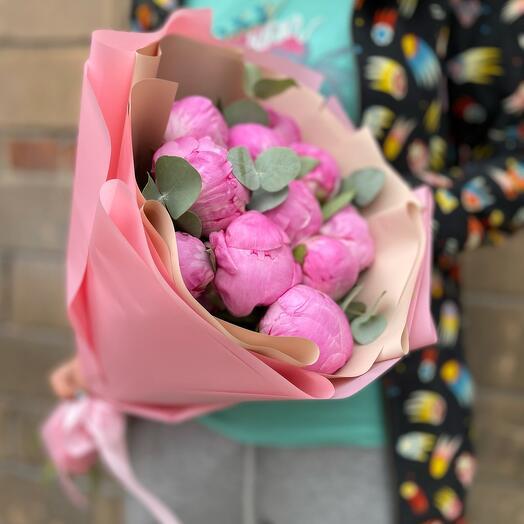 Букет Пионы Розовые
