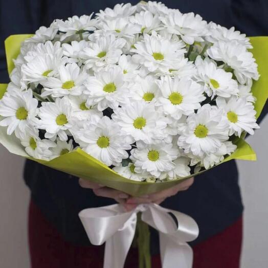 Букет хризантемный